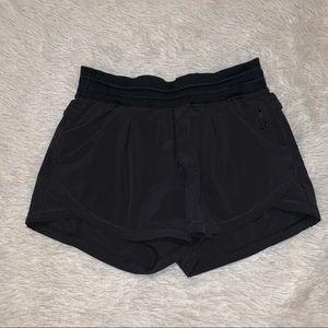 Lululemon Athletica Womens Black Shorts Sz 2